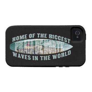 Praia de Norte Surfing iPhone 4 Case