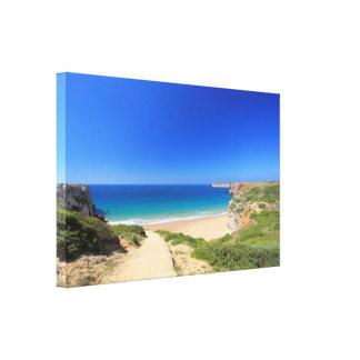 Praia do Beliche Canvas Print