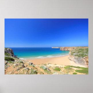 Praia do Beliche Poster