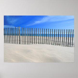Praia do Cabeco Poster