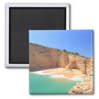Praia do Carvalho 2 Inch Square Magnet