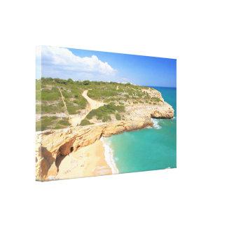 Praia do Carvalho Canvas Print
