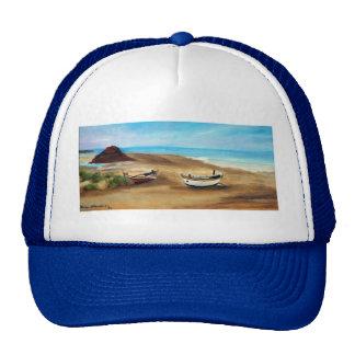 Praia do Meco - óleo - 20x40 Trucker Hat