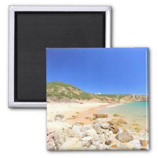 Praia do Zavial Refrigerator Magnet