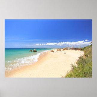 Praia dos Tres Irmaos Poster
