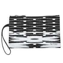 Praire_Winterc) Fabric -Sueded Mini Clutch
