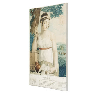 Prairial ninth month of the Republican Gallery Wrap Canvas