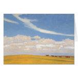 Prairie After Storm by Maynard Dixon Greeting Card