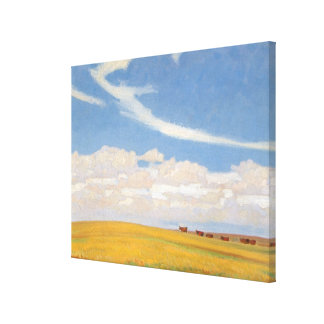 Prairie After Storm by Maynard Dixon, Vintage Art Canvas Print