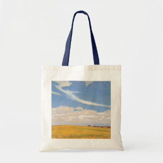 Prairie After Storm by Maynard Dixon, Vintage Art Tote Bag