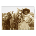 Prairie and Valentine Greeting Card