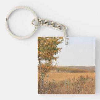 Prairie Autumn Keychain