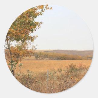 Prairie Autumn Sticker