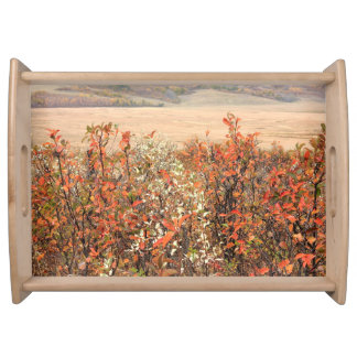 Prairie Buckbrush Serving Platter