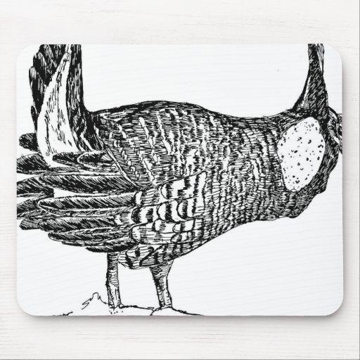 Prairie Chicken Mousepads