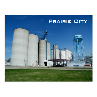 Prairie City Postcard