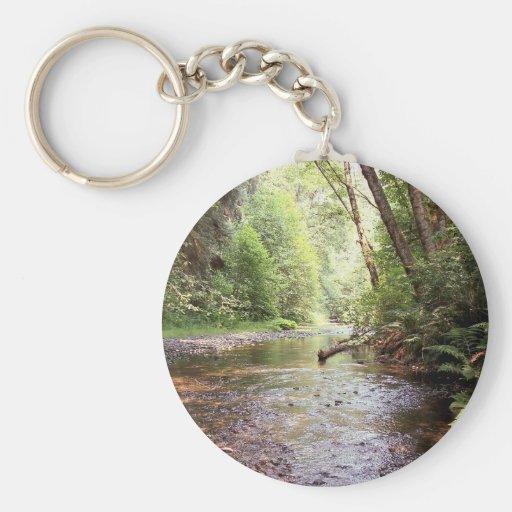 Prairie Creek Redwoods Keychain