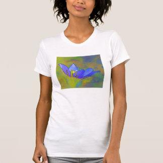 Prairie Crocus (digital art) T-Shirt