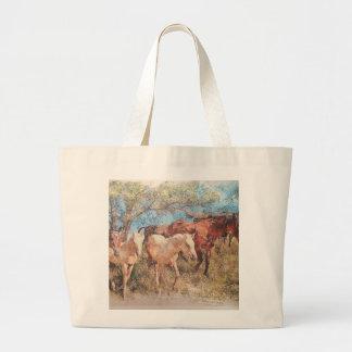 Prairie design by artist john branning canvas bag