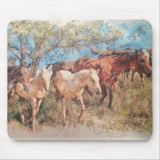 Prairie design by artist john branning mouse pad