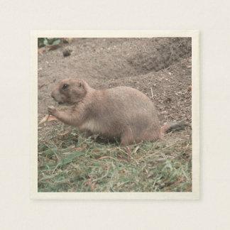 Prairie Dog 01 Disposable Napkin
