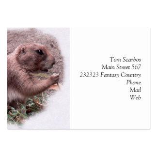 Prairie Dog 02 Business Card
