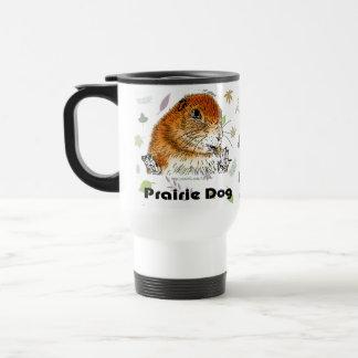 prairie dog (A back figure) Mugs