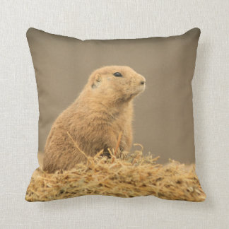 Prairie Dog Aint I Cute Pillow