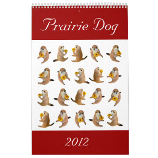 prairie dog , Calendar