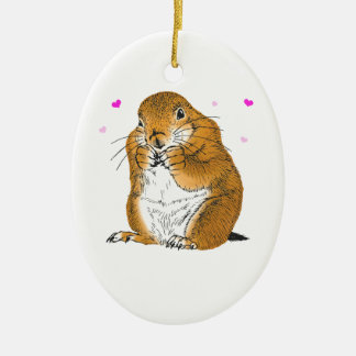 prairie dog_Christmas Tree Ornament