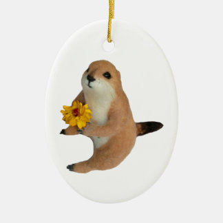 prairie dog , Christmas Tree Ornament
