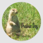 Prairie Dog Classic Round Sticker