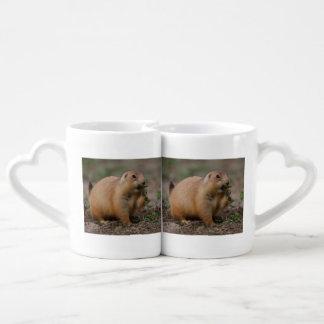 prairie dog coffee mug set