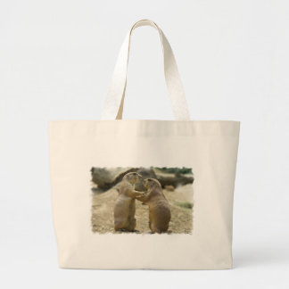 Prairie Dog Deal Grocery Tote Bag