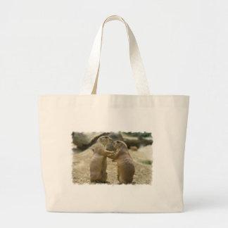 Prairie Dog Deal Grocery Tote Bag