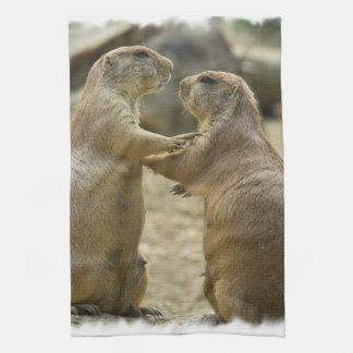 Prairie Dog Deal Kitchen Towel