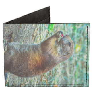 Prairie dog tyvek wallet