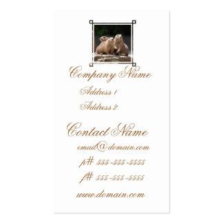 Prairie Dog Family Business Card Template