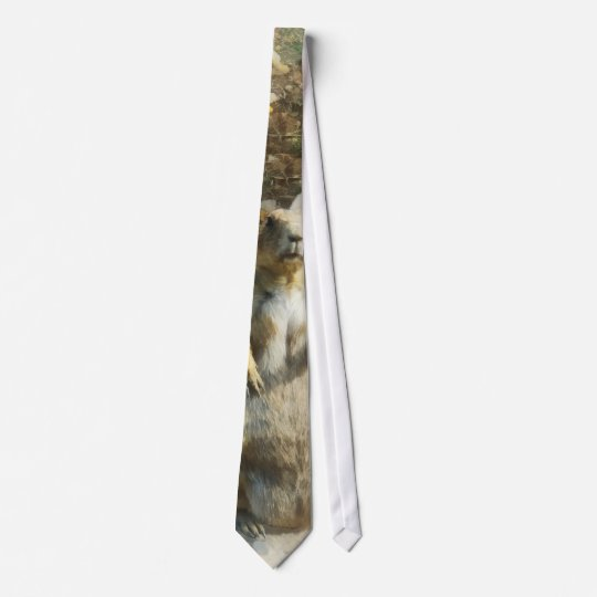 Prairie Dog Formal Portrait Tie