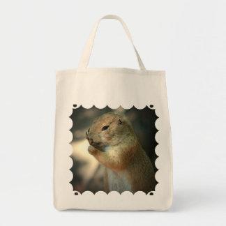 Prairie Dog Grocery Tote Bag