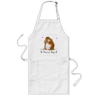 prairie dog (Heart) Long Apron