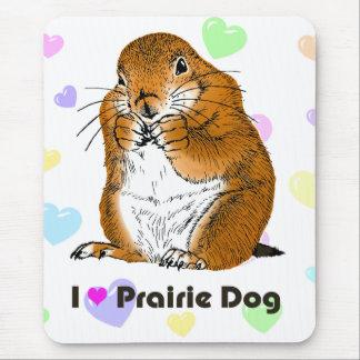 prairie dog (Heart) Mouse Pad