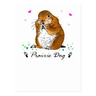 prairie dog (Heart) Postcard