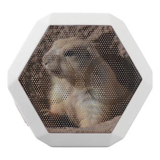 Prairie Dog in Hole White Boombot Rex Bluetooth Speaker