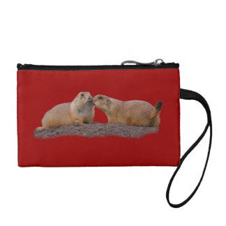 Prairie Dog Kiss Coin Wallet