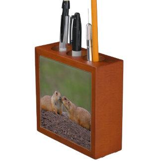 prairie dog kiss Pencil/Pen holder