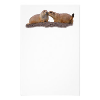 prairie dog kiss stationery
