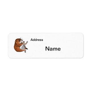 Prairie dog , Label