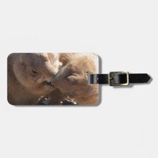 Prairie Dog Love Bag Tag
