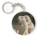 Prairie Dog Photo Keychain